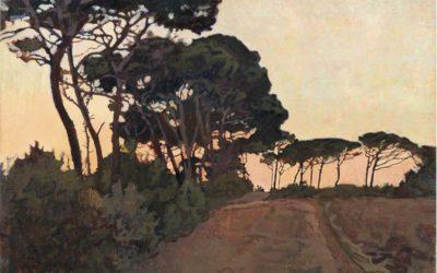 Exposition Villa Bardini et les tableaux de Lloyd: la ville à tes pieds par une nuit étoilée