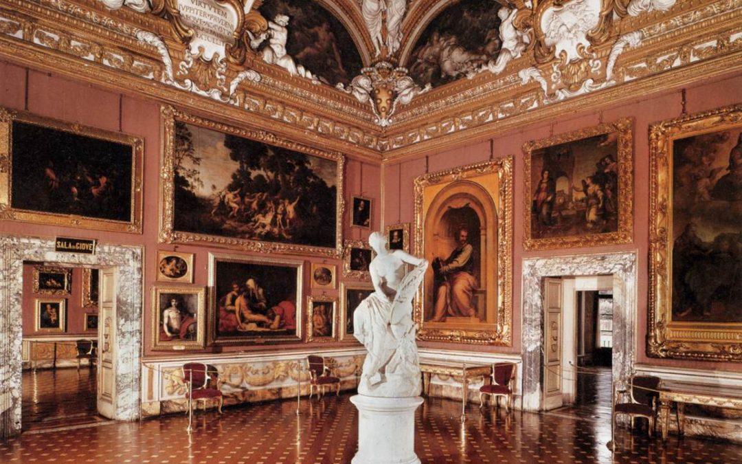 La Quadreria de la Galerie Palatine et ses innombrables chefs d'oeuvres