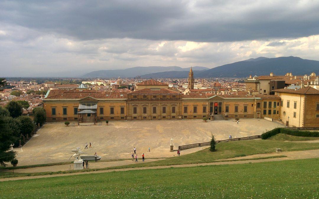 Palazzo Pitti: Café avec vue à couper le souffle!