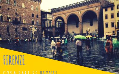 Florence. Que faire s'il pleut?
