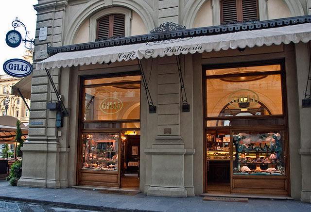 Café à Florence