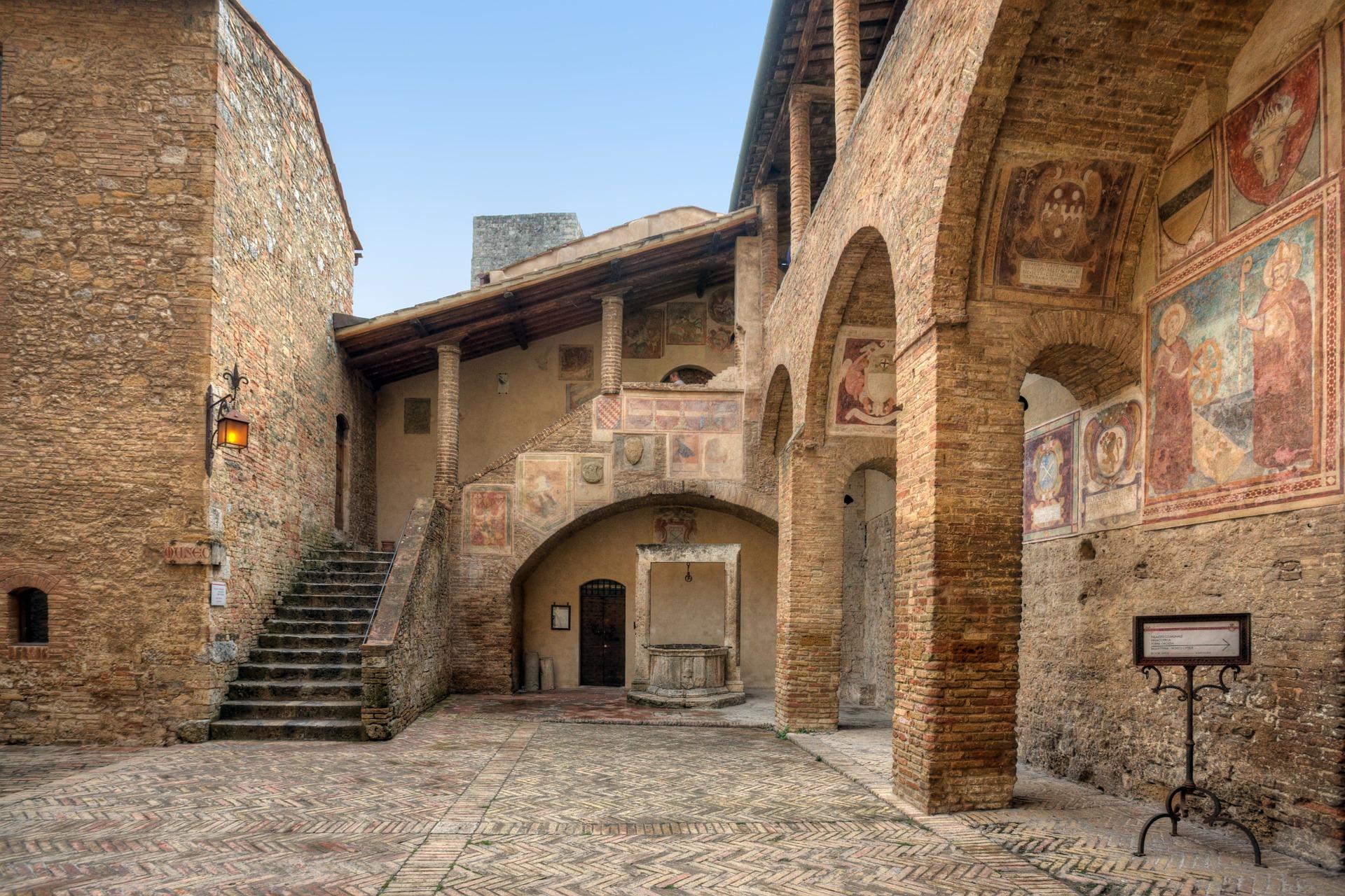 La Toscane pour les enfants