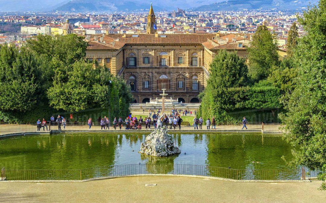 Visiter le Jardin de Boboli et ses fontaines