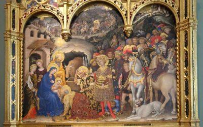 Pour Noël: l'Adoration des Mages, Gentile da Fabriano