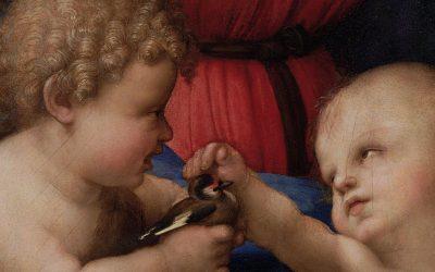 Aux Offices de Florence: Michelangelo et Raffaello face à face
