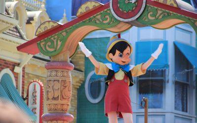 Pinocchio en exposition à Florence